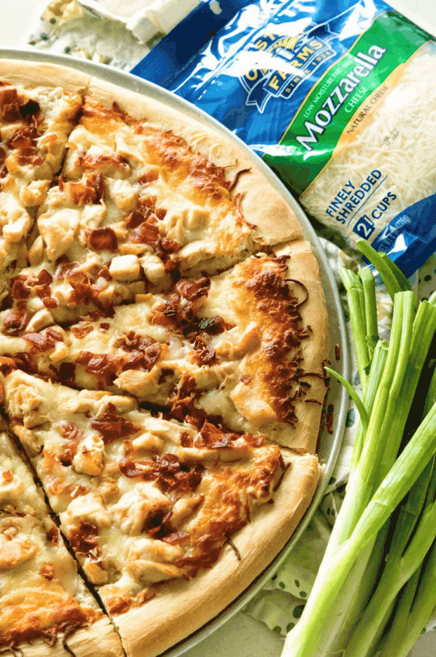 Chicken Bacon Ranch Pizza – Julie's Eats & Treats