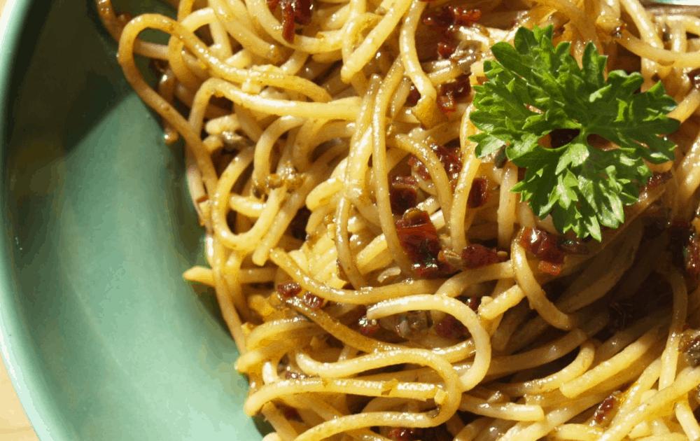 Chili Cheese Spaghetti Casserole