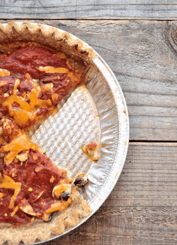 Clean Eating Pizza Pie
