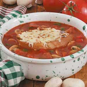 Contest-Winning Pizza Soup Recipe How to Make It