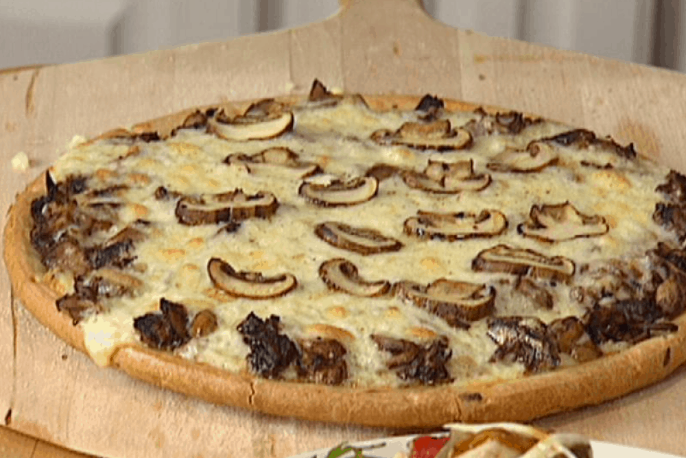Exotic Mushroom Pizza