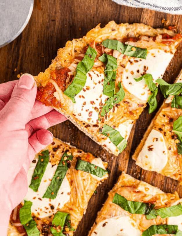 FSF Three-Cheese Chicken Crust Pizza
