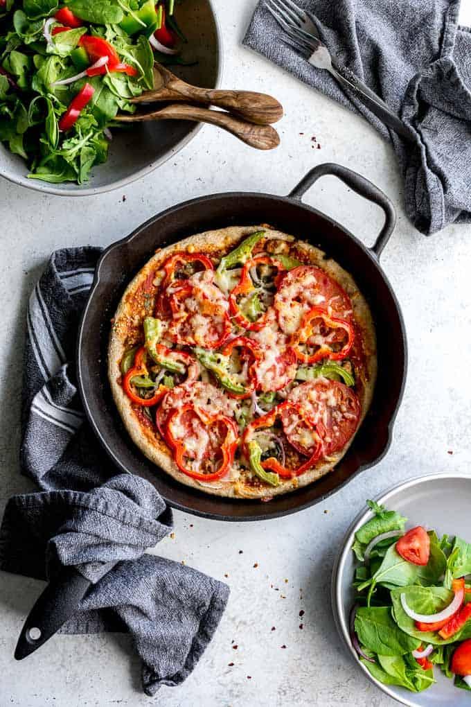 Healthy Homemade Pizza – Crumb Top Baking
