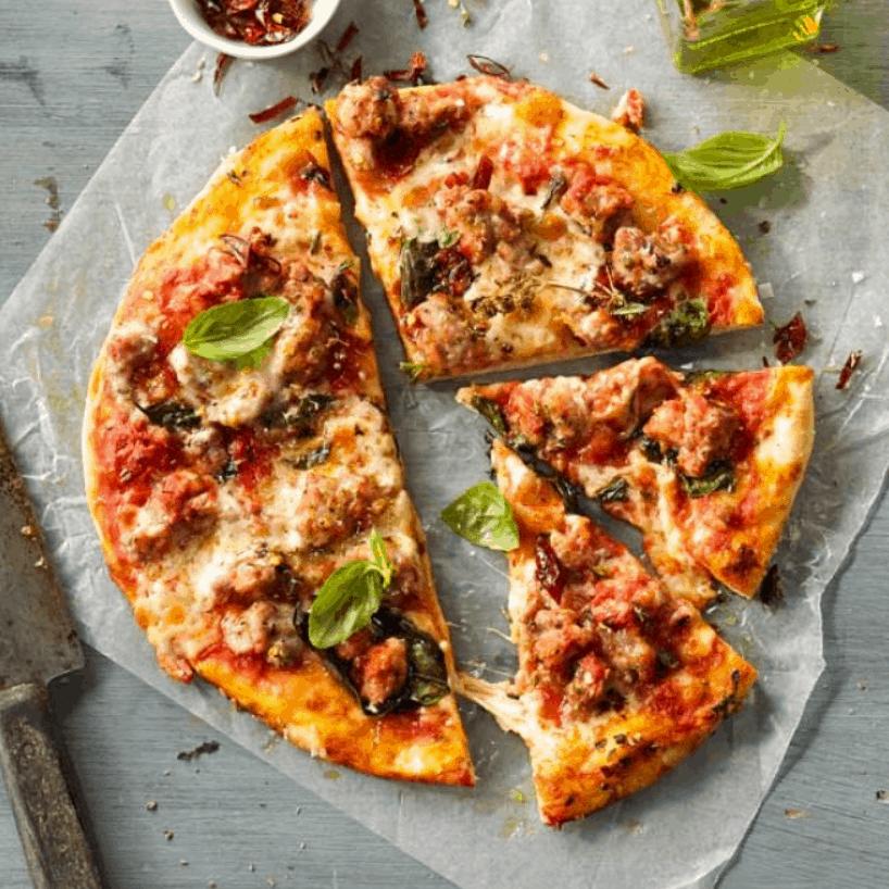 Italian Pork & Fennel Sausage Pizza Recipe – Myfoodbook