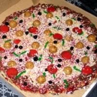 Jake's Blueberry Pizza Cake