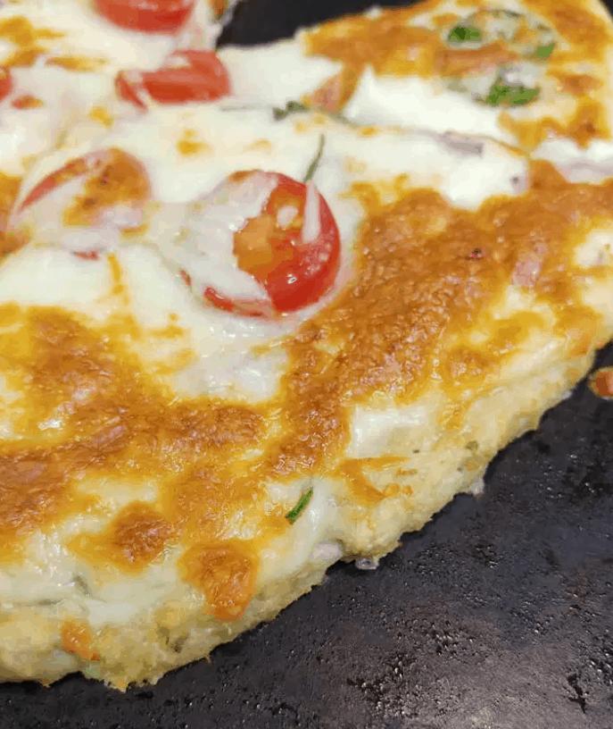 Jett's Gluten-Free Chicken Crust Pizza