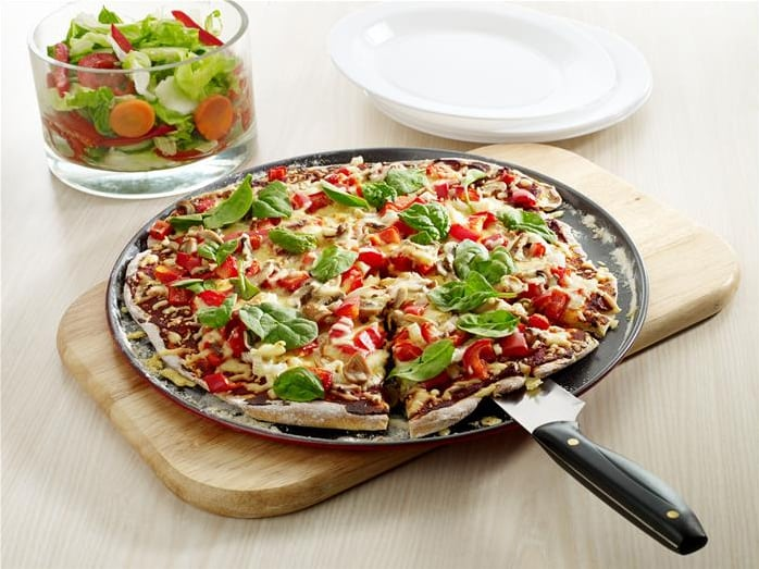 LiveLighter – Healthy Pizza Base Recipe