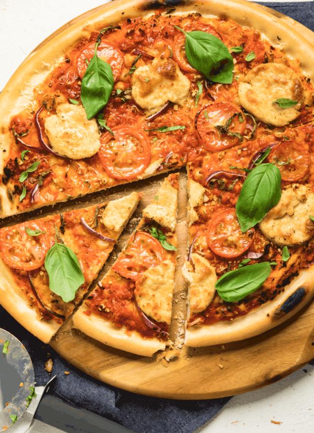 MakeItDairyFree's No-Yeast Pizza