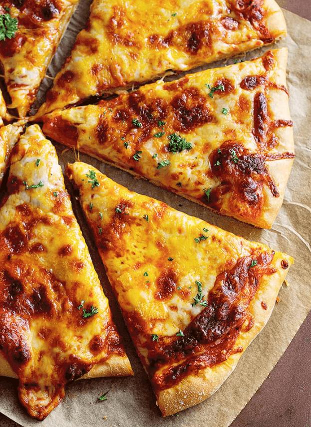 Malinda's Homemade Cheese Pizza