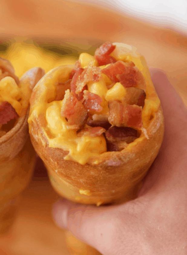 Pizza Cones – Izzycooking.com