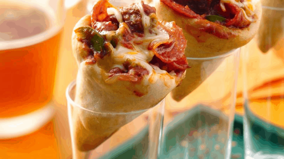 Pizza Cones Recipe – Pillsbury.com