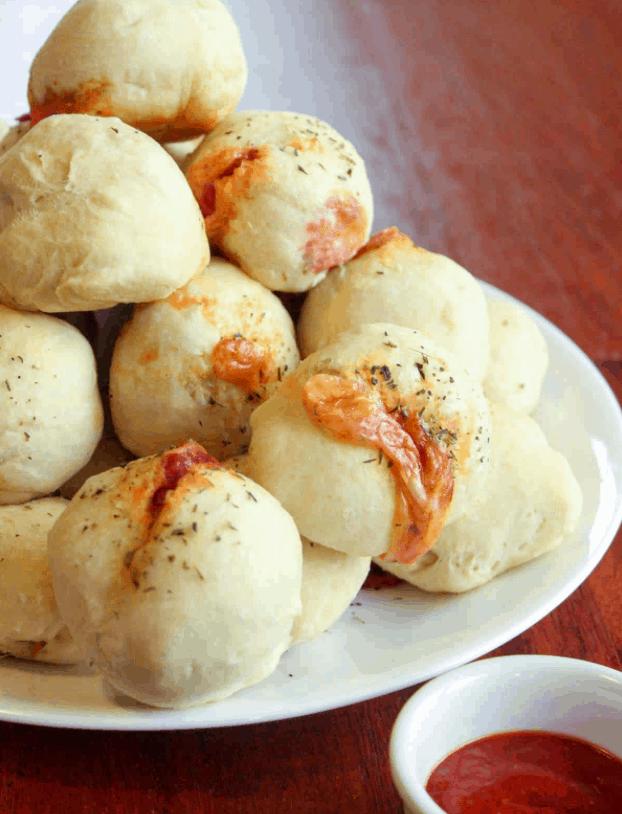 Pizza Pocket Dumplings