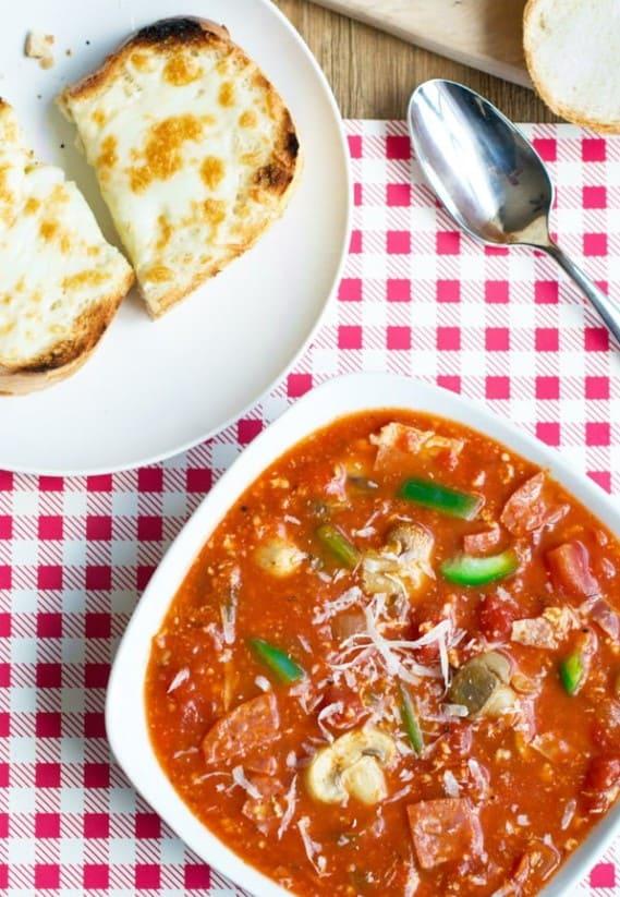 Pizza Soup – Cookthestory.com