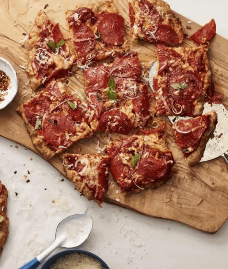 Ranch Chicken Crust Pizza