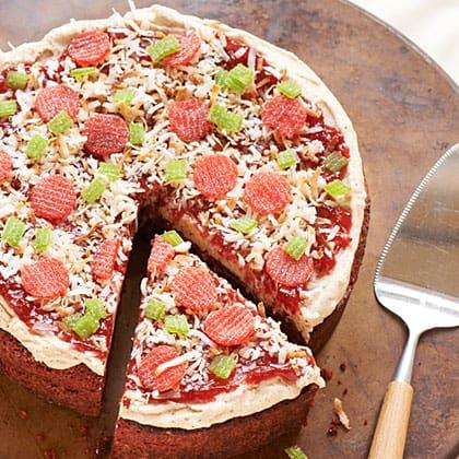 Red Velvet Pizza Cake