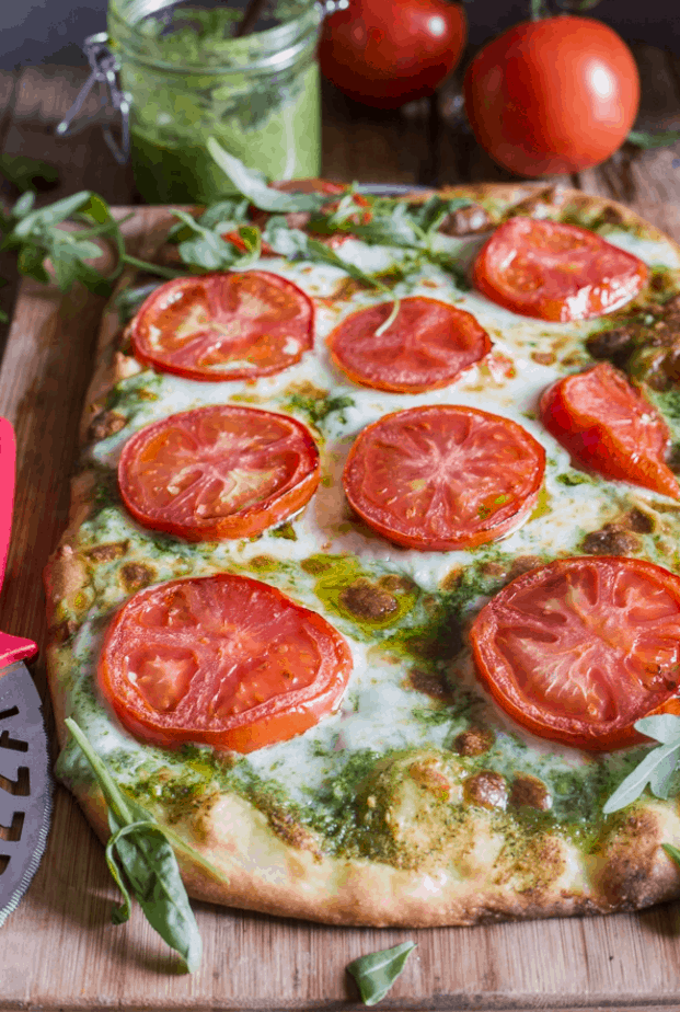 Rosemary's Pesto Pizza Recipe