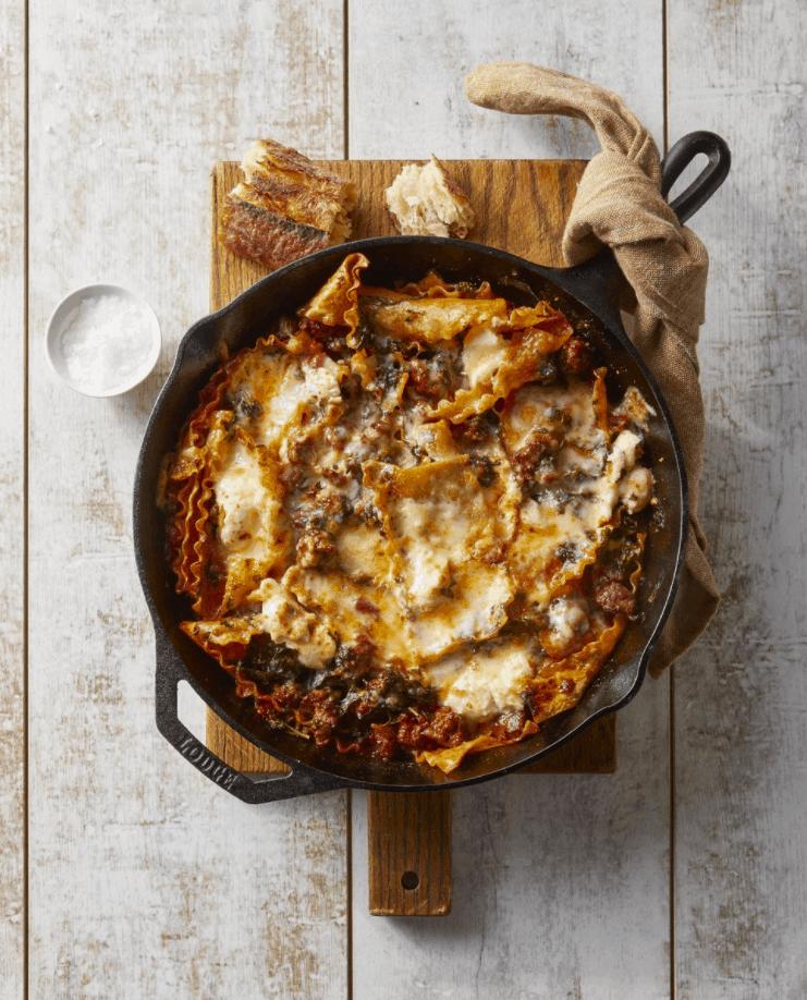 Sausage and Cheese Lasagna Casserole Recipe