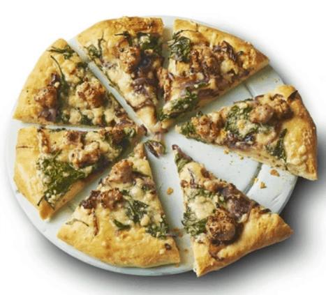 Sticky Onion & Sausage Pizza Recipe – BBC Good Food