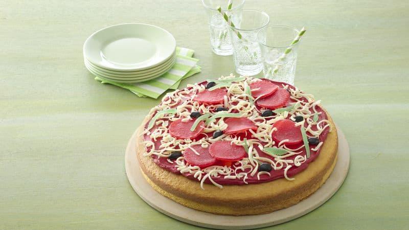 Taste of Home Pizza Cake