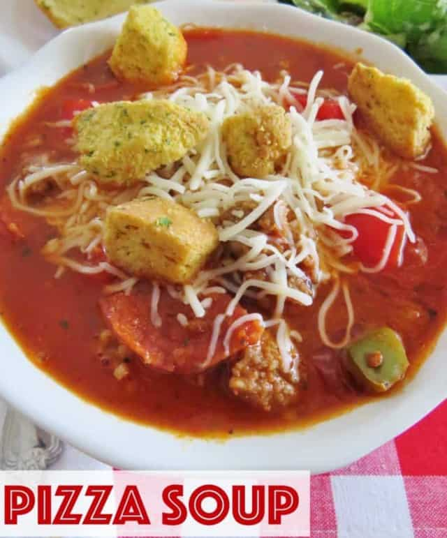 The Best Pizza Soup – The Country Cook