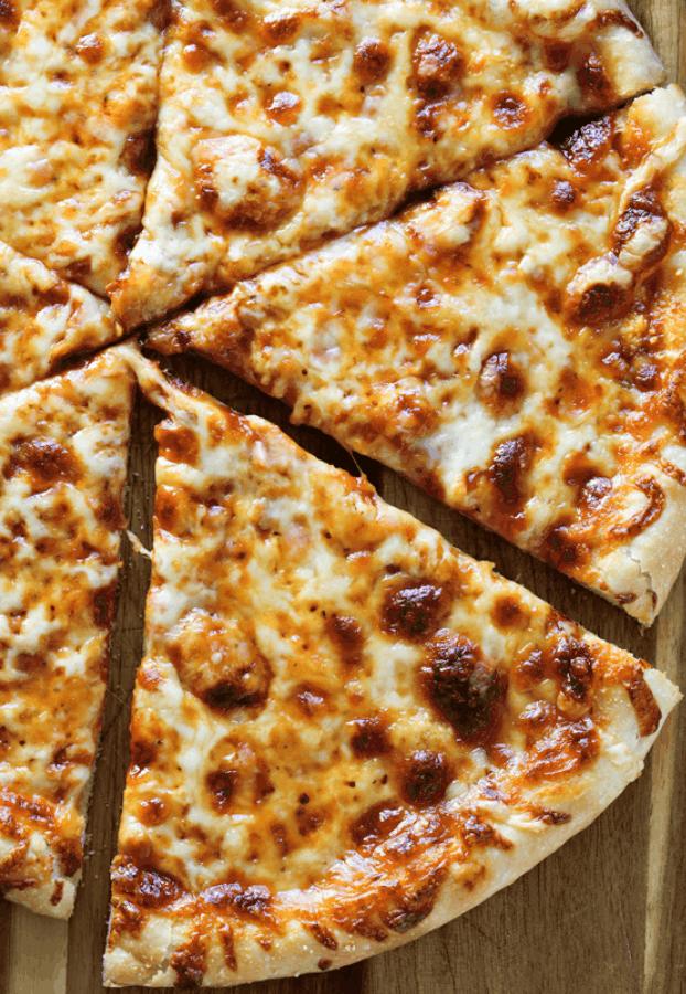 Thin Crust Three Cheese Pizza