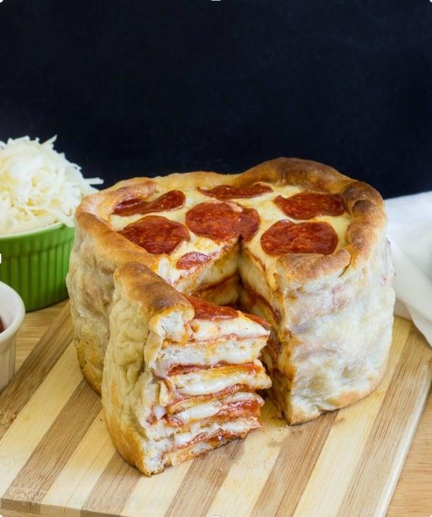 Viral Pizza CaKE
